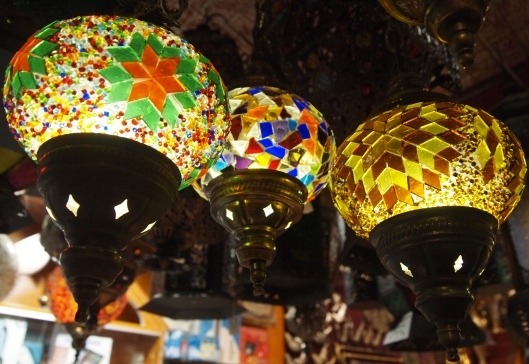 more Turkish lamps