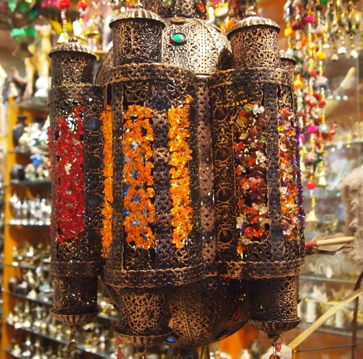 beaded lamps