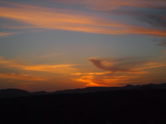 another beautiful sunset on Jebel Akhdar