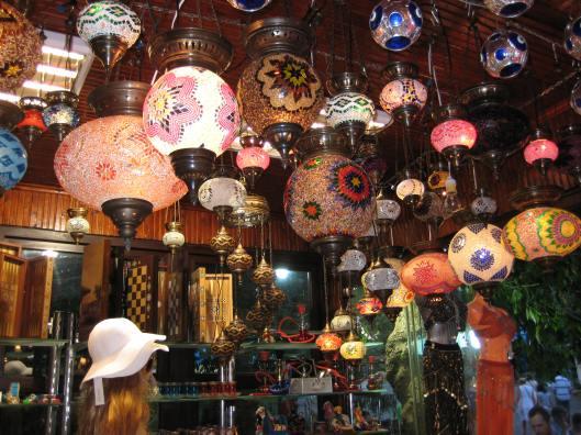 Lanterns in Istanbul, Turkey