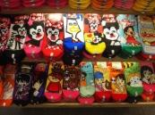 colorful socks in Kyoto, Japan