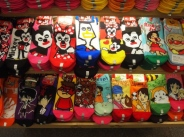 colorful socks in Kyoto, Japan
