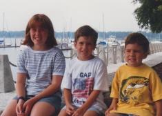 Sarah, Alex and Adam in Hilton Head, South Caroline