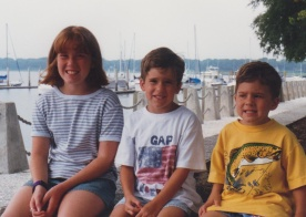 Sarah, Alex and Adam in Hilton Head, South Caroline