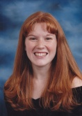 Sarah's high school graduation picture
