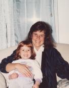 Me with Sarah in Richmond, Viriginia Around 1987