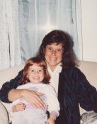 Me with Sarah in Richmond, Viriginia Around 1987