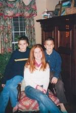 Alex, Sarah and Adam