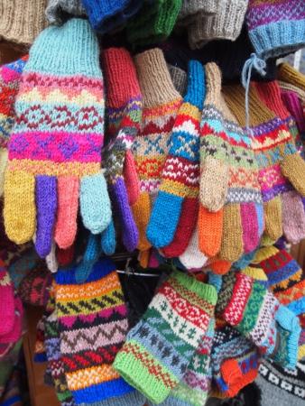 Gloves in Kathmandu, Nepal