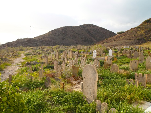 more tombstones in Salalah