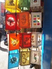 Paper lanterns in Kathmandu, Nepal