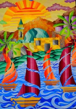Paintings of Oman