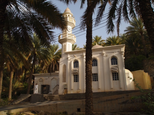 the mosque in the wadi