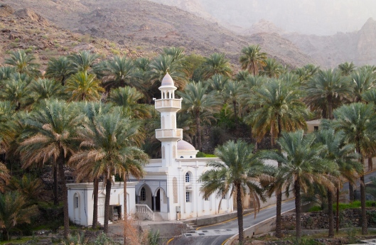 the picturesque mosque