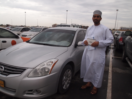 Badr and his Altima