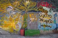 Street art in Rethymno, Crete