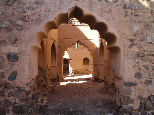 entrances to ruins through Munisifeh, Ibra, Oman