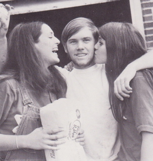 Rosie, Josh, and Charlene in 1973