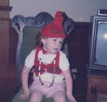 Sarah at Christmas