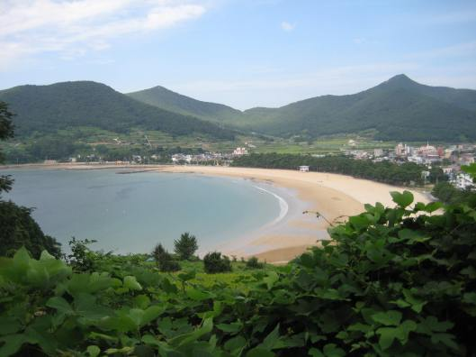 "Sangju ""Silver Sand"" Beach in South Korea"