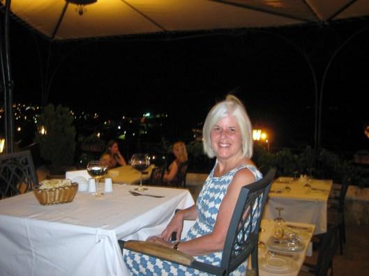 a night at the Dimrit Restaurant in Cappadocia