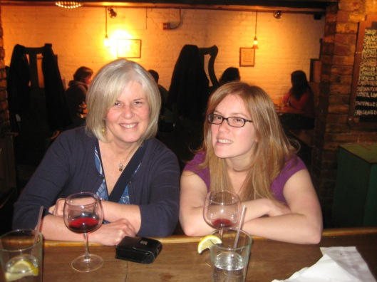 Spending time with Sarah in Richmond sampling food and wine at various establishments :-)