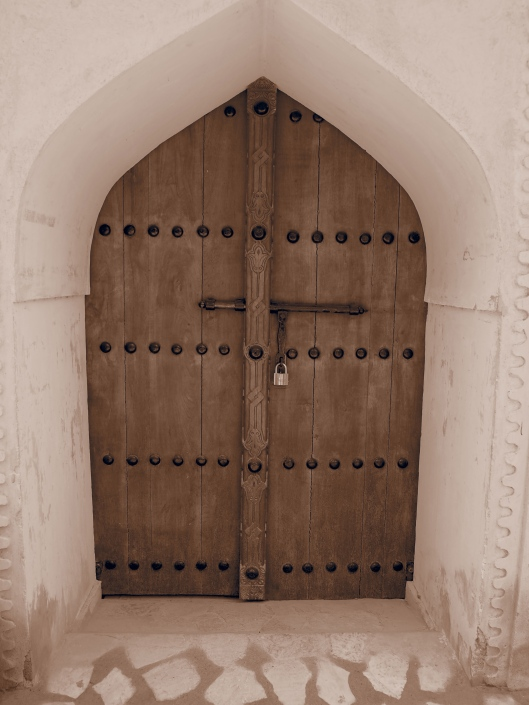 a door at the fort