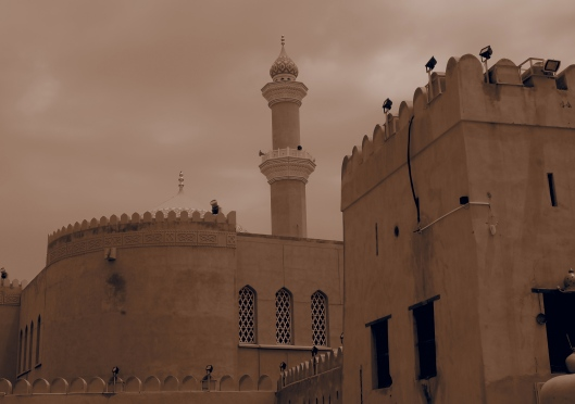 the minaret of Nizwa mosque