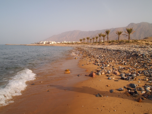 As Sifah Beach near Muscat, Oman