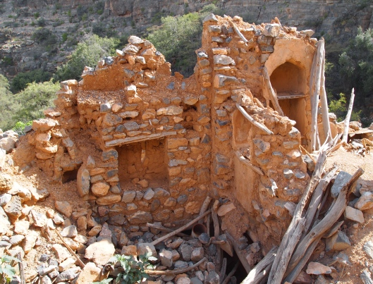 Ruins at Wadi Bani Habib on Jebel Akhdar