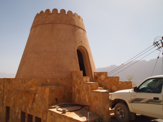 the watchtower at the entrance to Wekan