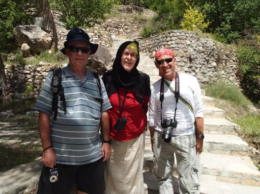 Gavin, Anna and Mario