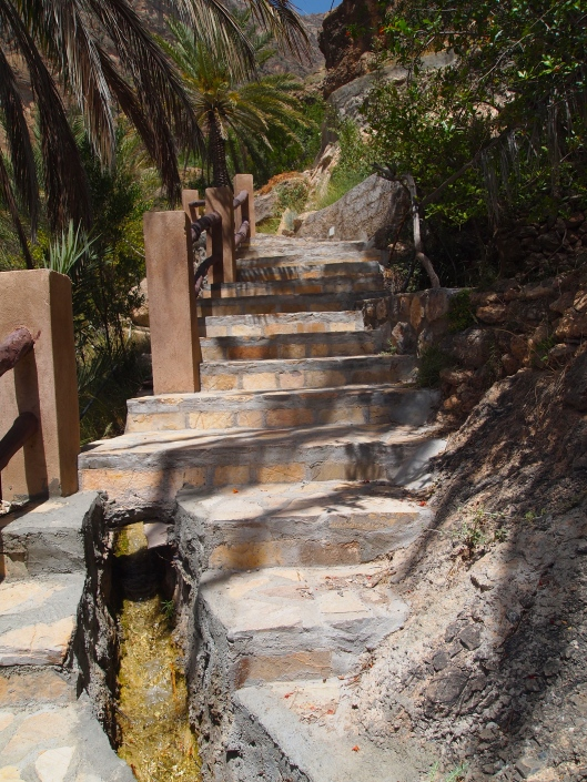 the falaj and the Persian steps