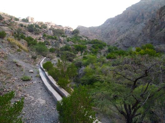 the falaj to Al Qasha