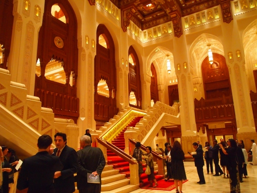 Inside Royal Opera House Muscat
