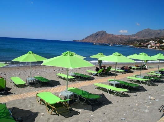 Plakias Beach, Crete, Greece