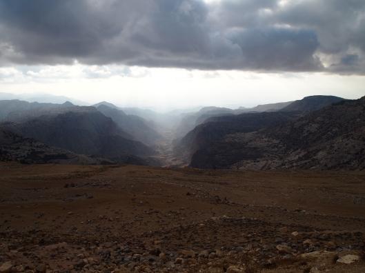 Air at Dana Nature Reserve in Jordan