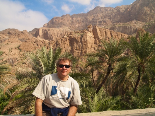 Exploring Wadi Tiwi with Guido