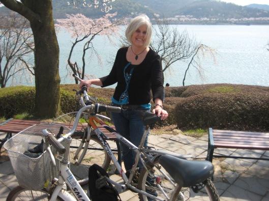 me in Gyeongju, South Korea, April 2010