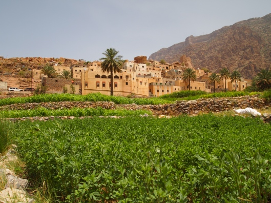 the beautiful village of Balad Sayt