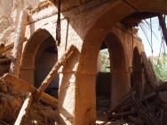 ruins in Adam, Oman
