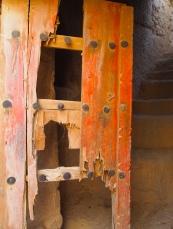ruined door