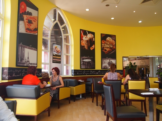 a crepe restaurant