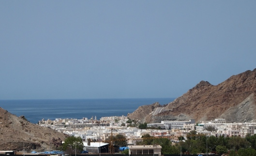 view toward Mutrah from Ruwi