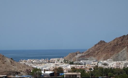 view toward Mutrah from Ruwi