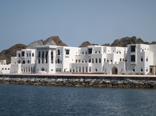 government buildings in Muscat