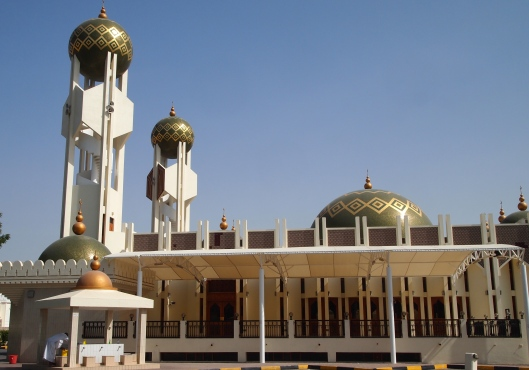 the mosque on the way from Qurum to Ruwi