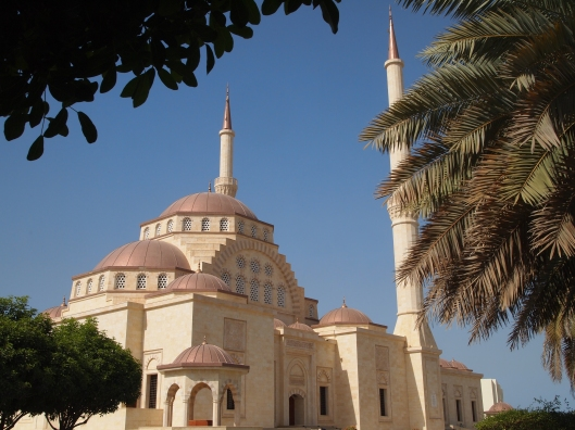 Sultan Said bin Taimur Mosque, fashioned after Istanbul's Hagia Sophia