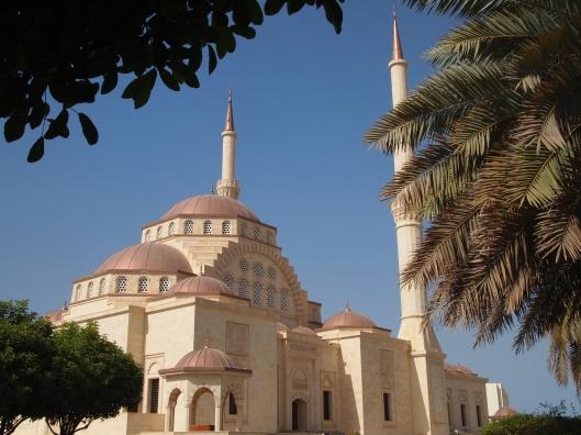 Sultan Said bin Taimur Mosque, fashioned after Istanbul's Hagia Sophia