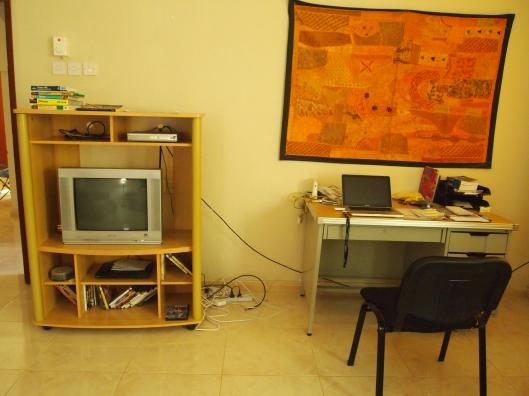 Living room/study :-)